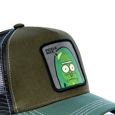 CASQUETTE CAPSLAB RICK ET MORTY PICKLE RICK