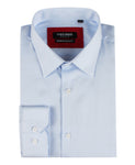Chemise bleu ciel confort fit en oxford royal