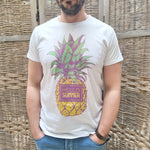 "T-shirt Ananas ""Hello Summer"""