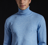 "Pull col roulé moutarde ""cashmere Touch"""