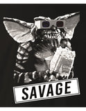 T-shirt Gremlins - Savage. Sous licence Officielle