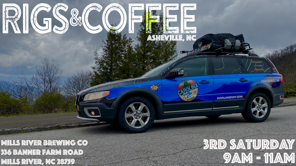 July Rigs & Coffee Asheville