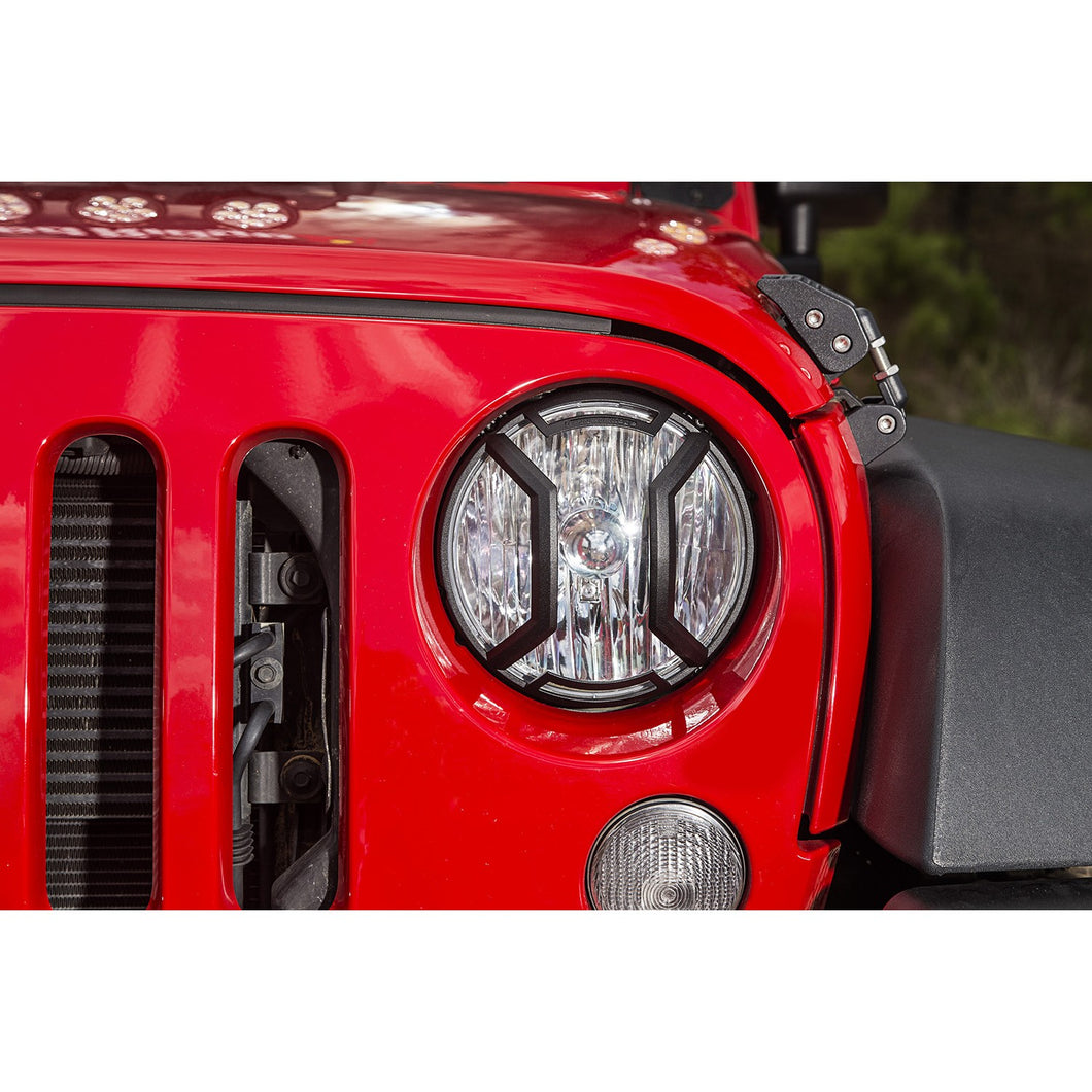 RUGGED RIDGE ELITE HEADLIGHT EURO GUARDS