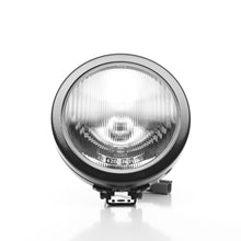 "Load image into Gallery viewer, 6"" SlimLite Halogen Single Light - Black - KC #1124 (Spread Beam)"