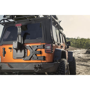 HD Tire Carrier Kit; 07-18 Jeep Wrangler JK