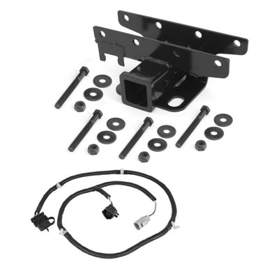 Rugged Ridge - Trailer Hitch Kit, Wiring Harness; 07-18 Jeep Wrangler JK