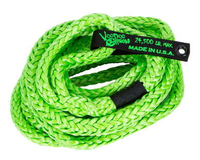 KINETIC RECOVERY ROPE 3/4 INCH X 30 FOOT GREEN WITH ROPE BAG