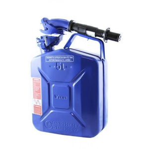 Wavian Fuel Can 5 Liters (1.3 Gallons) — the original NATO Steel Jerry Can