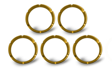 FLEX; Bezel Ring Gold (5 pack) #30562