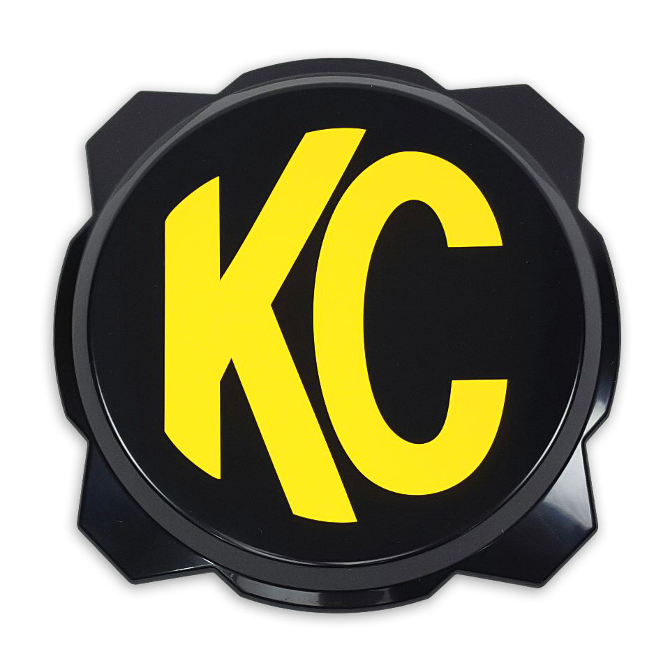 KC Gravity® Pro6 Black Light Cover with Yellow KC Logo - #5111