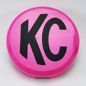 "6"" Plastic Cover - KC #5124 (Pink with Black KC Logo)"