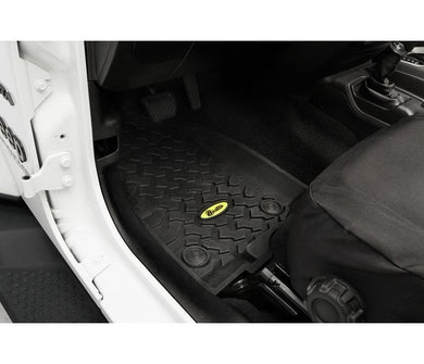BESTOP - Front Floor Liners for Jeep 18-Current Wrangler JL 2DR & 4DR
