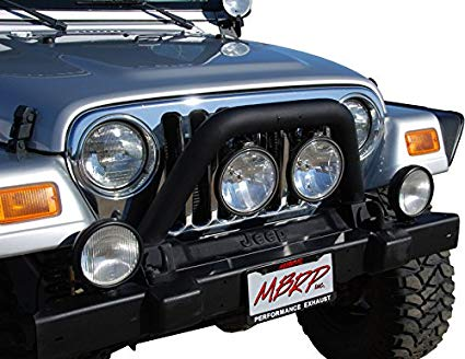 JEEP WRANGLER TJ FRONT LIGHT BAR/GRILLE GUARD SYSTEM