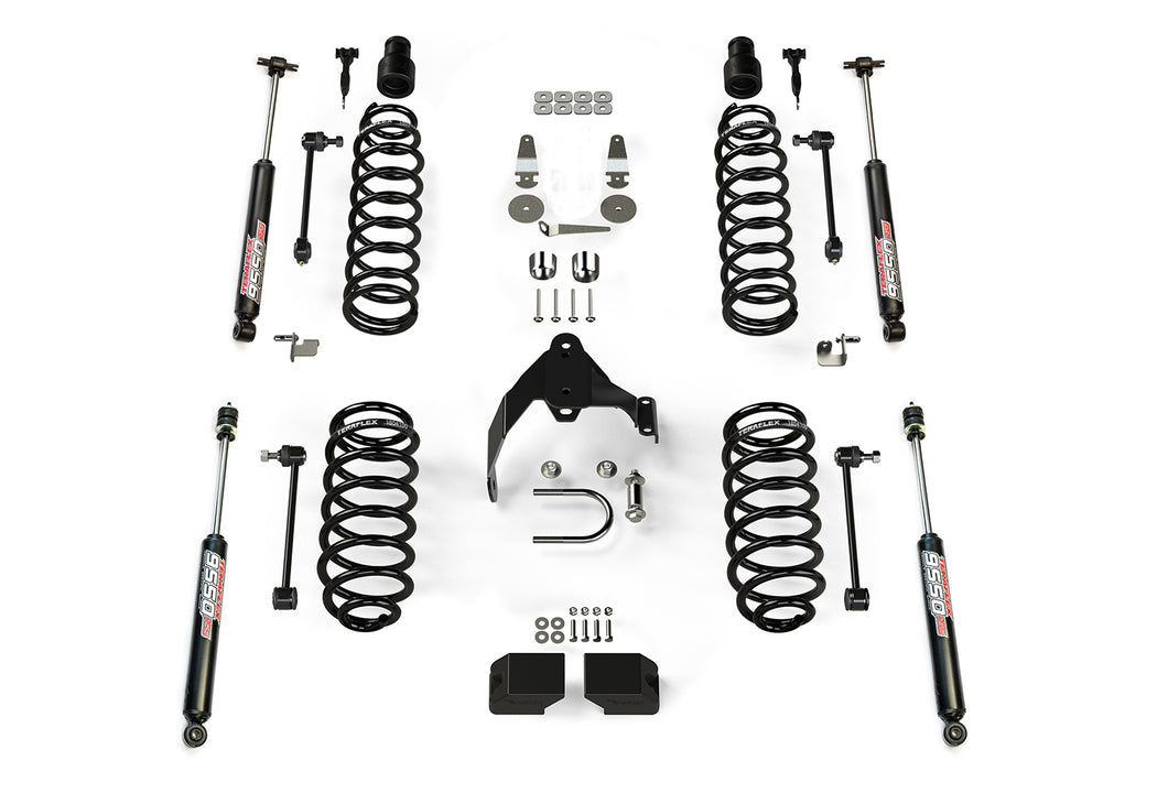 "TeraFlex - JKU 4-Door Base 3"" Lift Kit w/ 9550 VSS Shocks"