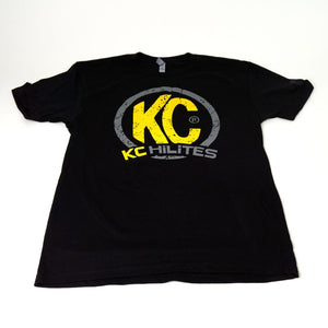 KC Lighting Adventure Womens' Tee Black T-Shirt
