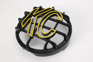 "6"" Stone Guard - KC #72101 (Black with Yellow KC Logo)"
