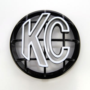 "5"" Apollo Stone Guard - KC #7217 (Black with White KC Logo)"