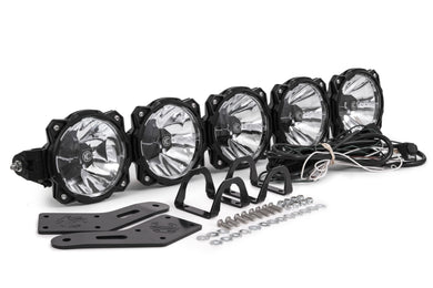 Gravity® LED Pro6 Polaris RZR 5-Light Combo LED Light Bar - #91309