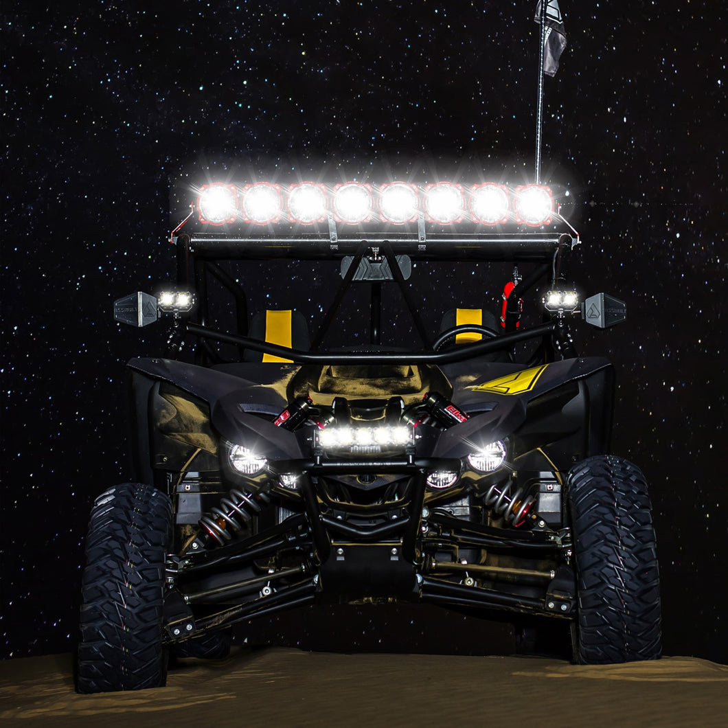 Gravity® LED Pro6 Yamaha YXZ1000R  6-Light Combo LED Light Bar - #91310