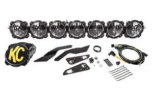 Can-Am X3; Pro6 Gravity LED 7-Light Overhead Sys  #91334