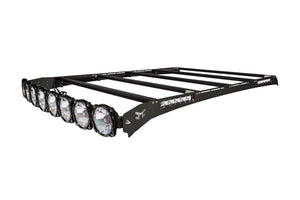 M-RACKS; Ford F150/Raptor Super Crew 99-14 Pro6 8-lt Roof Rack Sys #92112