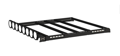 M-RACKS; Jeep Wrangler JL Unlimited 18-19 Pro6 8-LT Roof Rack System