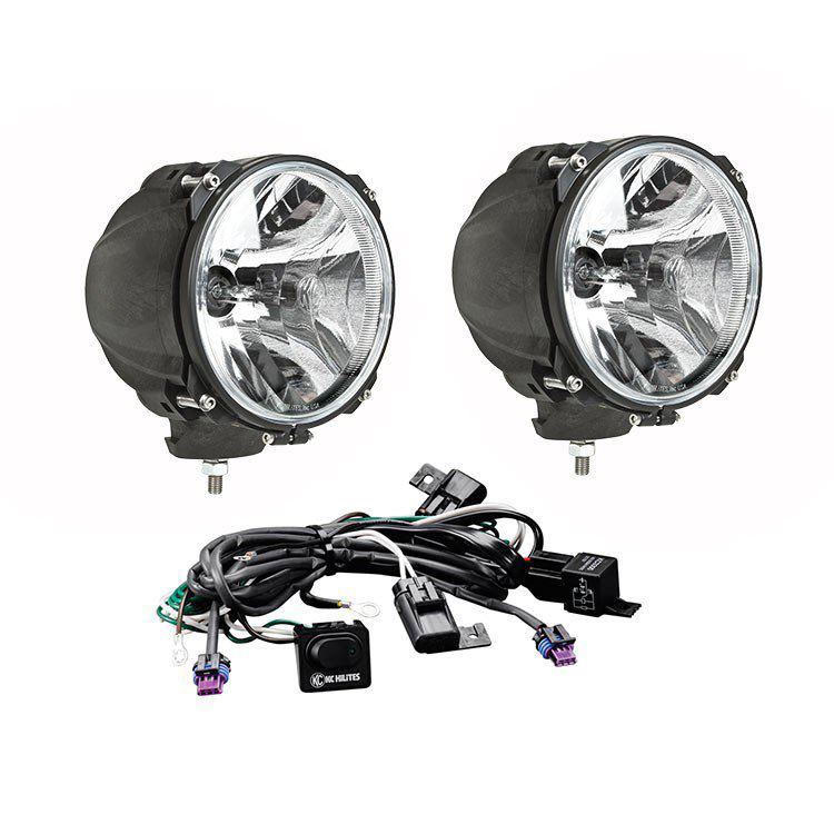 Carbon POD® 70W HID Spread Beam Pair Pack Light System - KC #96423