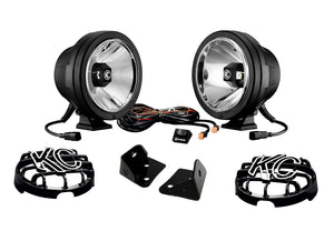 KIT - Jeep JK Pro-Sport LED Drvg + A-Pillar Brkts