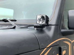 KC 2018-2019 Jeep JL A-Pillar Gravity LED G34 (Driving Beam) Light Kit - #97118