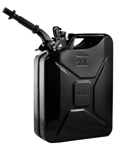 Wavian Fuel Can 20 Liters (5.3 Gallons) — the original NATO Steel Jerry Can