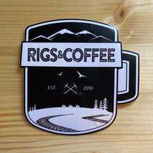Load image into Gallery viewer, RIGS & COFFEE Sticker