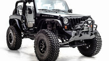 Load image into Gallery viewer, 07-18 JEEP JK HARDCORE STUBBY WINCH BUMPER WITH GRILL GUARD MATTE BLACK