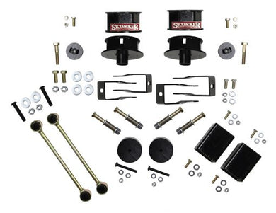SKYJACKER - Wrangler JL 4WD (All Models) 2.5 in. Metal Spacer Kit with Shock Extension Brackets
