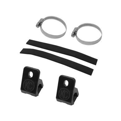 KC MTZ 40° Universal Tube Clamp Mount Pair - #7326