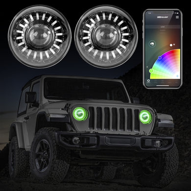 XK GLOW - LED Jeep Wrangler JL/Gladiator Headlight