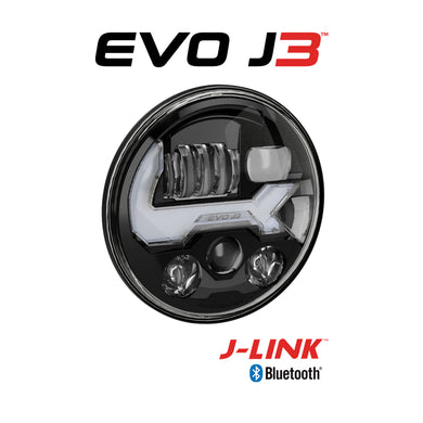 Jeep LED Headlights – Model EVO J3 Heated