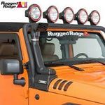 Rugged Ridge XHD Low/High Mount Snorkel System, Diesel; 07-18 Jeep Wrangler JK
