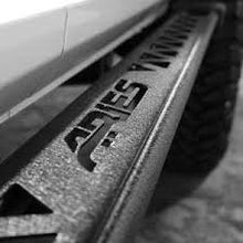 Load image into Gallery viewer, ARIES 07-15 WRANGLER JEEP 2 DOOR ROCKER STEPS BLACK POWDERCOAT