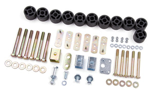 "ZONE - 97-06 Jeep TJ 1-1/4"" Body Lift Kit"
