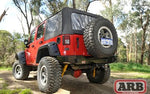 ARB JEEP WRANGLER JK REAR BUMPER W/ CARRIER