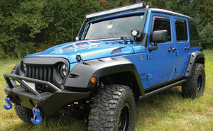 WRANGLER JK 10TH ANNIVERSARY STEEL, READY TO PAINT HOOD