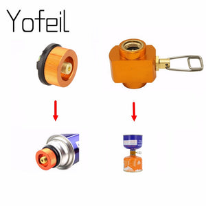 Outdoor Camping Gas Refill Adapter