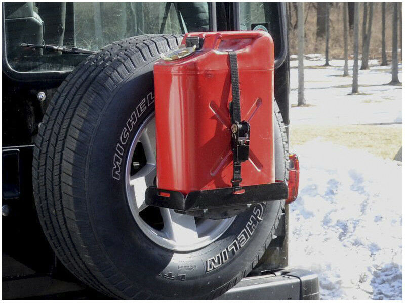 JEEP SPARE TIRE MOUNT +  UNIVERSAL TRAY (Jerry Cans)