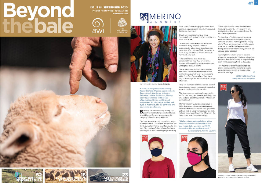 Beyond The Bale Feature - September Issue
