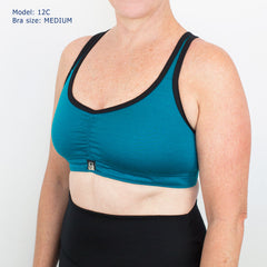 Merino Action Back Sports Bra