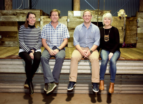 The wool shed team
