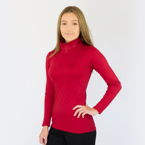 Merino Turtle Neck Skivvy