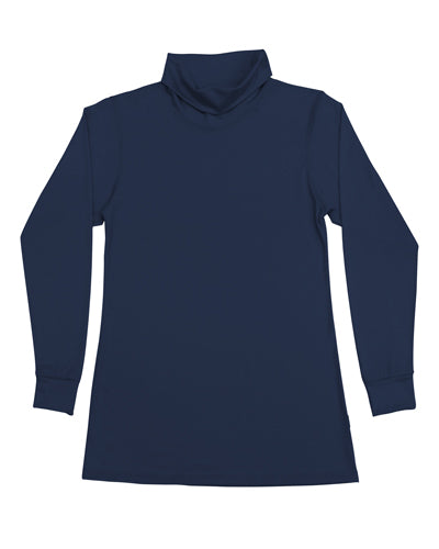 Women's Roll Neck Skivvy Navy