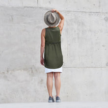 Load image into Gallery viewer, Merino Sleeveless Tunic Top