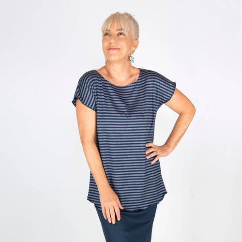 Women's Merino Cap Sleeve Top